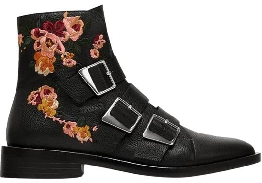 Preload https://img-static.tradesy.com/item/22902193/zara-black-leather-buckle-embroidered-flower-floral-bootsbooties-size-us-5-regular-m-b-0-1-540-540.jpg