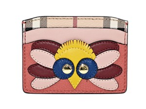 Burberry Burberry Izzy Beasts Owl Leather Card Case