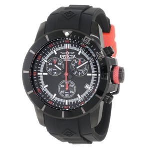 Invicta INVICTA Men's Pro Diver Black Dial Black Rubber Watch 11747