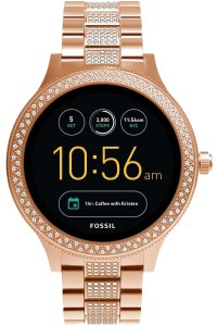 Fossil Fossil Q Gen 3 Venture Rose Gold Touchscreen Smart Watch FTW6008