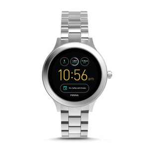 Fossil Fossil Q Gen 3 Venture Steel Bracelet Touchscreen Smart Watch FTW6003
