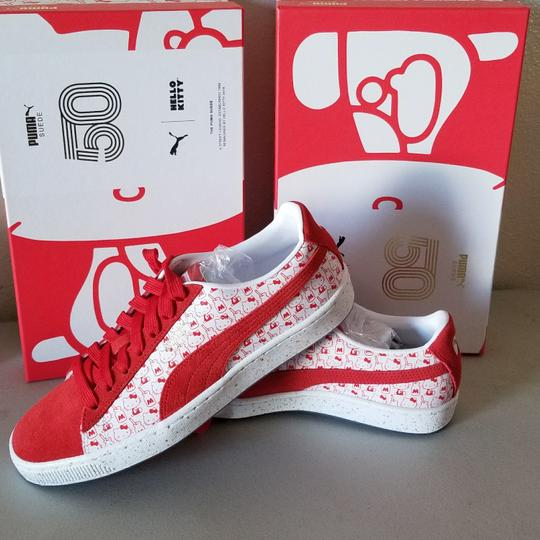 Puma White/Red Athletic