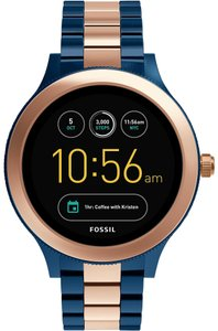 Fossil Fossil Q Gen 3 Venture Rose Bracelet Touchscreen Smart Watch FTW6002