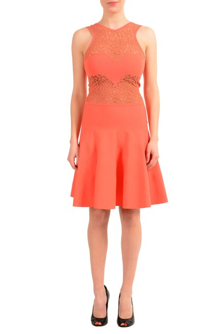 Preload https://img-static.tradesy.com/item/22902505/versace-collection-orange-v-8576-short-casual-dress-size-4-s-0-0-650-650.jpg