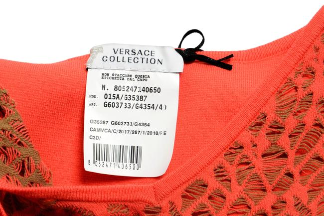 Versace Collection short dress Orange on Tradesy