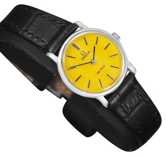 Preload https://img-static.tradesy.com/item/22902508/omega-goldenrod-yellow-c-1980-de-ville-vintage-ladies-with-dial-watch-0-1-540-540.jpg