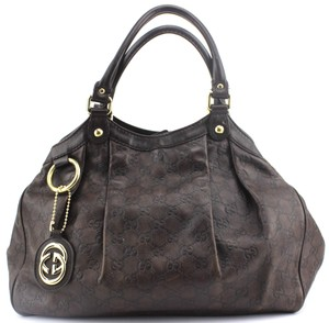 f07327799139 Added to Shopping Bag. Gucci Signature Leather Hobo Bag. Gucci Sukey  Guccissima Handbag 211944 ...