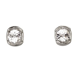 Givenchy Silver-Tone Stud Earrings
