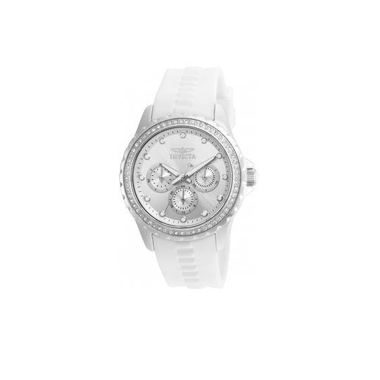 Preload https://img-static.tradesy.com/item/22902551/invicta-white-women-s-angel-multi-function-silver-dial-21899-watch-0-0-540-540.jpg