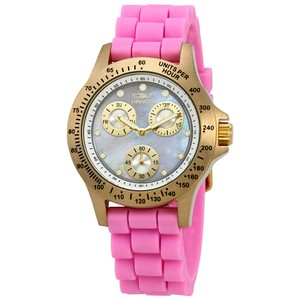 Invicta INVICTA Women's Speedway Multi- Mother of Pearl Dial Watch 21982