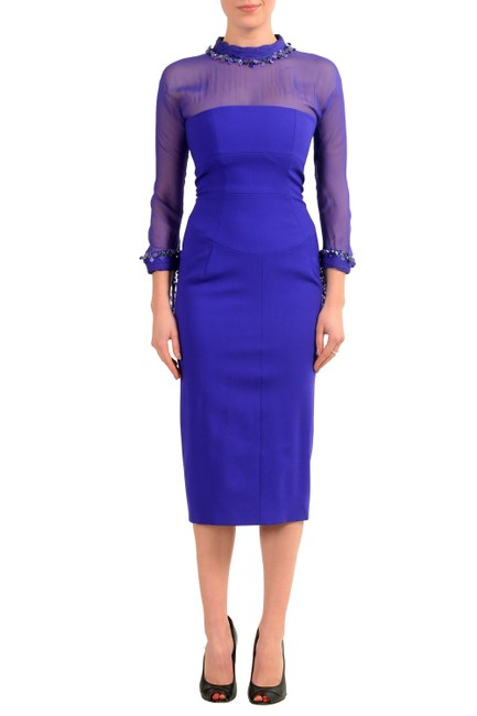 Preload https://img-static.tradesy.com/item/22902579/dsquared2-purple-v-8598-mid-length-short-casual-dress-size-2-xs-0-0-650-650.jpg