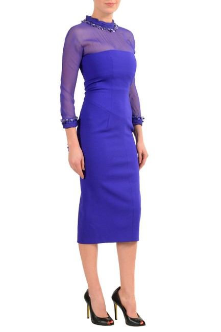 Dsquared2 short dress Purple on Tradesy
