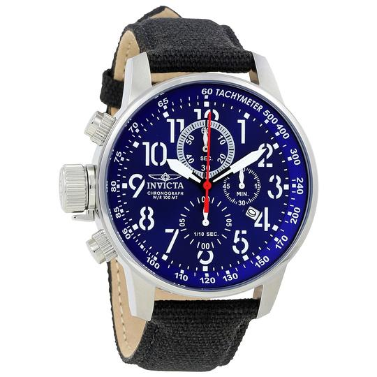 Invicta INVICTA Men's Lefty Force Chronograph Blue Dial Watch 1513
