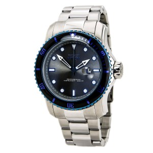 Invicta INVICTA Men's Pro Diver Grey Dial Stainless Steel Watch 15077