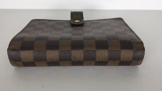 Louis Vuitton Agenda Mm Diary Cover Lv Agenda Damier Lv Diary Cover Brown Clutch