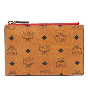 MCM card case with keychain