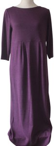 Aubergine Heather Maxi Dress by J. Jill Comfort