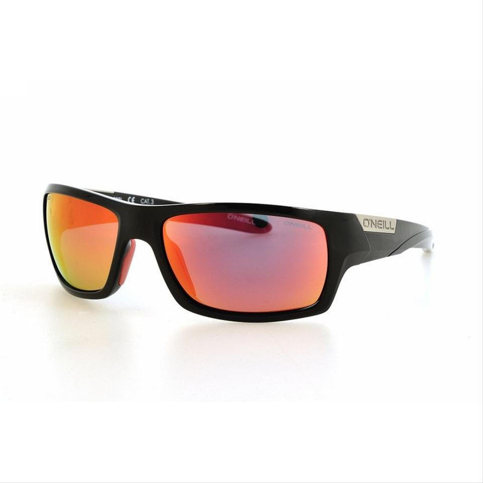 a5682b4b5e O Neill ONS-BARREL-160P Unisex Black Frame Red Lens Polarized Sunglasses  Image ...