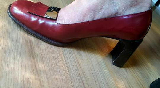 Gucci Vintage Red Pumps