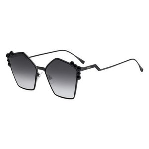 Fendi Fendi Sunglasses FF 0261/S 02O5 9O Black