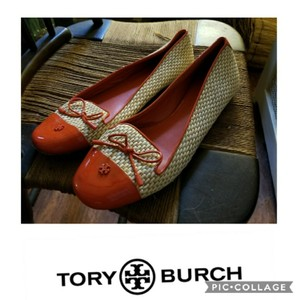 Tory Burch Tan and orange Athletic