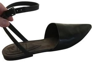 Brunello Cucinelli black-dark brown Sandals
