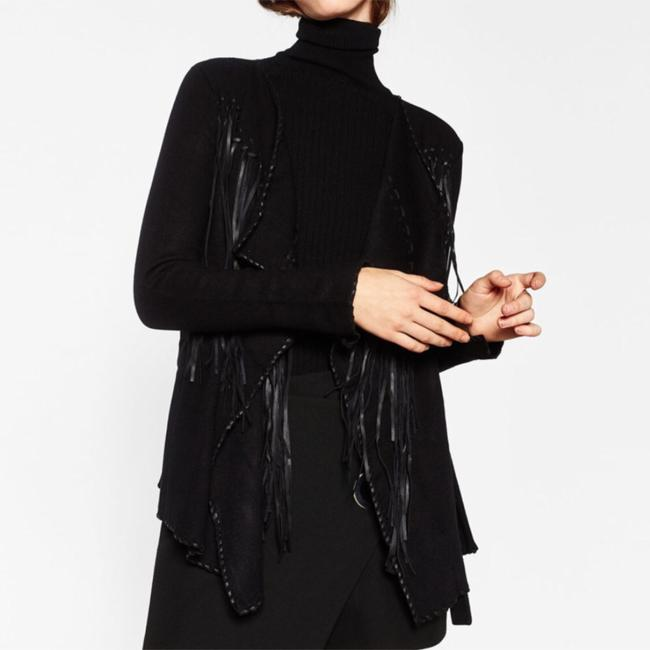 Zara Black Jacket Image 1