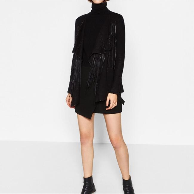 Zara Black Jacket Image 2
