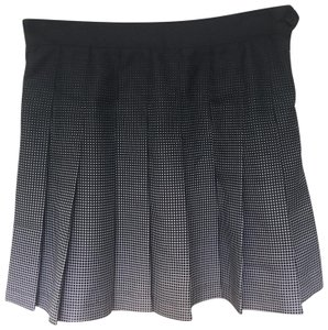 American Apparel Mini Skirt black & white