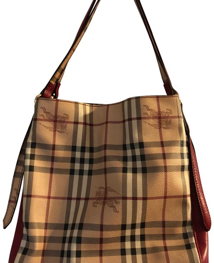 Preload https://img-static.tradesy.com/item/22904295/burberry-haymarket-check-canterbury-military-red-tote-0-1-540-540.jpg