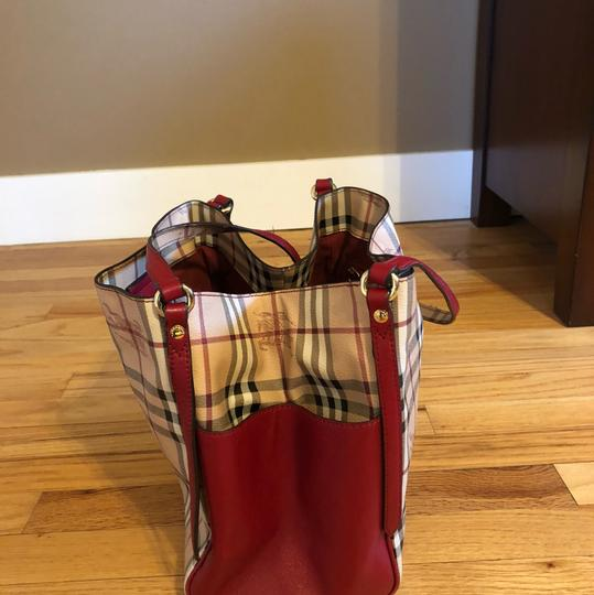 Burberry Tote in Military Red Image 2