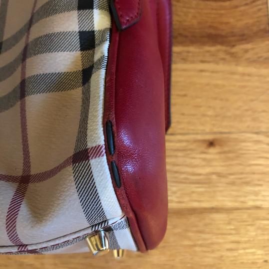 Burberry Tote in Military Red Image 6