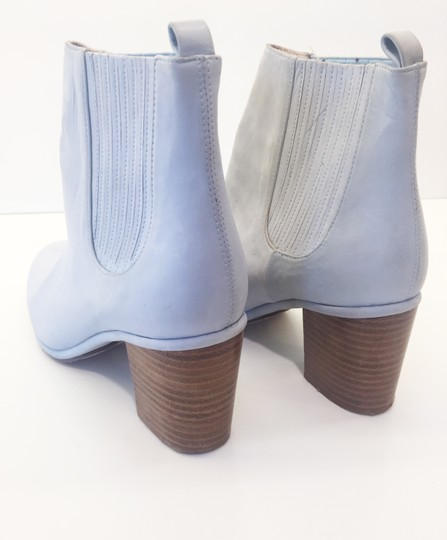 Opening Ceremony Pale Baby Blue Nubuck Suede Boots Image 2
