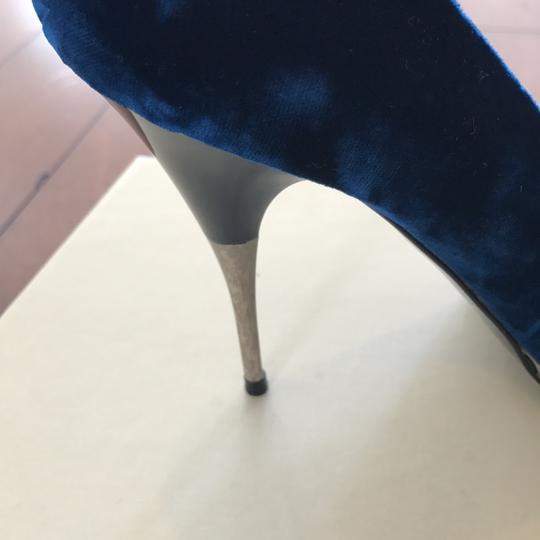 Stella McCartney Deep/marine blue Pumps Image 7