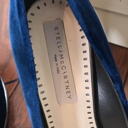 Stella McCartney Deep/marine blue Pumps Image 8