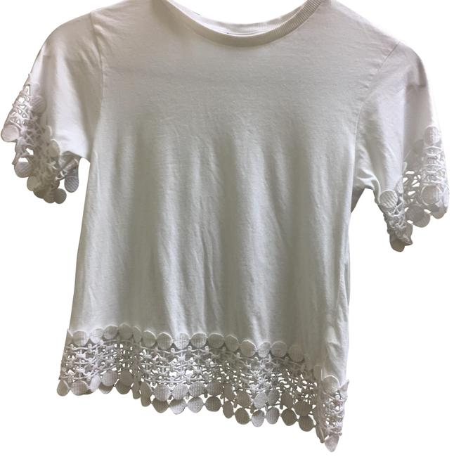 Preload https://img-static.tradesy.com/item/22904575/topshop-white-accent-lace-blouse-size-6-s-0-1-650-650.jpg