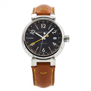 Louis Vuitton Louis Vuitton Tambour GMT Automatic Watch in Stainless Steel