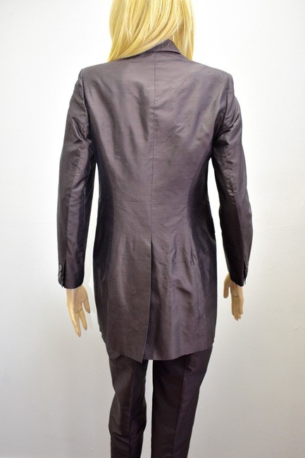 Whistles Whistles Brown 100% Silk Pants Suit Made In Italy Size 6 On Sale ps Image 9