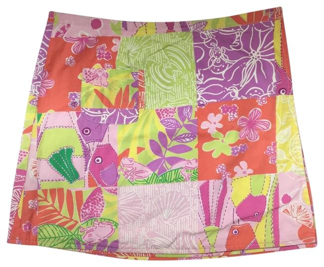 Lilly Pulitzer Mini Skirt Multi-color Image 0