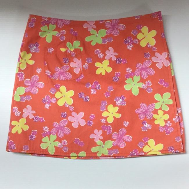 Lilly Pulitzer Mini Skirt Multi-color Image 1