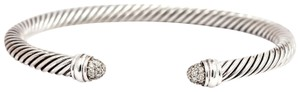 David Yurman David Yurman 5mm Cable Classics Bracelet with Pave Diamonds