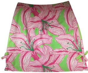 Lilly Pulitzer Skirt Green/Pink