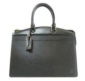 Louis Vuitton Satchel in black business briefcase