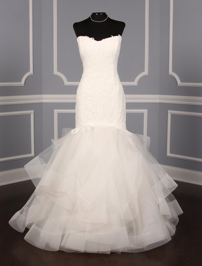 Rivini Ivory Lace Tulle and Horsehair Dolly Formal Wedding Dress Size 16 (XL, Plus 0x) Image 1