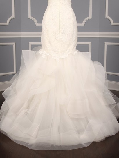 Rivini Ivory Lace Tulle and Horsehair Dolly Formal Wedding Dress Size 16 (XL, Plus 0x) Image 10