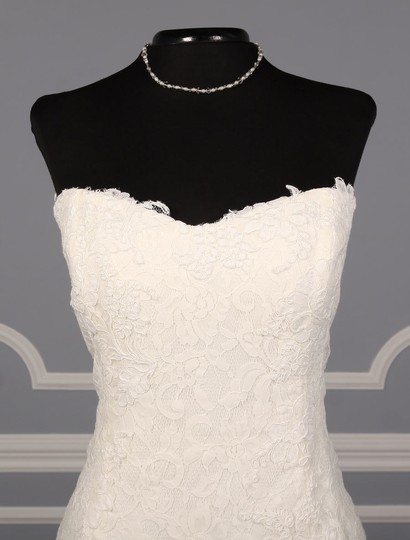 Rivini Ivory Lace Tulle and Horsehair Dolly Formal Wedding Dress Size 16 (XL, Plus 0x) Image 2