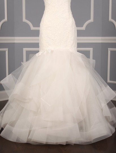 Rivini Ivory Lace Tulle and Horsehair Dolly Formal Wedding Dress Size 16 (XL, Plus 0x) Image 3