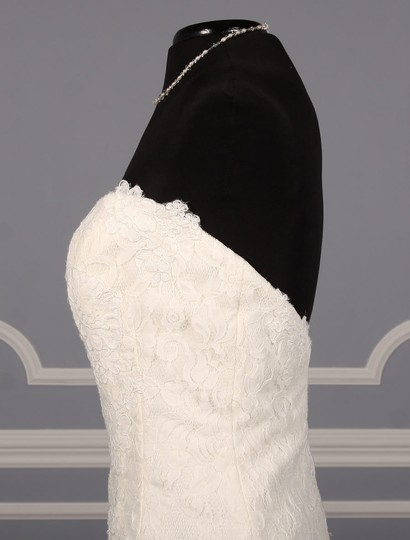 Rivini Ivory Lace Tulle and Horsehair Dolly Formal Wedding Dress Size 16 (XL, Plus 0x) Image 5