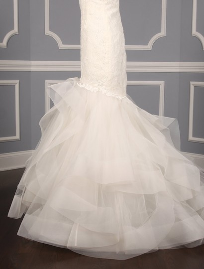 Rivini Ivory Lace Tulle and Horsehair Dolly Formal Wedding Dress Size 16 (XL, Plus 0x) Image 6