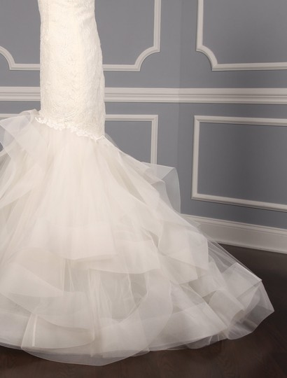 Rivini Ivory Lace Tulle and Horsehair Dolly Formal Wedding Dress Size 16 (XL, Plus 0x) Image 7